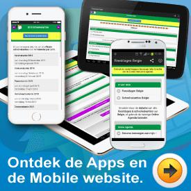 Ontdek de Apps en Mobile Website van Feestdagen Schoolvakanties Belgie Vergeet nooit meer een aankomende feestdag. Gebruik de mobile website of android app op je smartphone of tablet